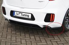 Heckansatz Seitenteile aus ABS für Kia Ceed GT, Pro Ceed GT