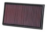 K&N Sportluftfilter 33-3005 VW Golf VII (5G) 1.6TDi 90/105/110 PS
