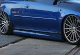 Design Seitenschwellersatz aus ABS für Audi A4 B8