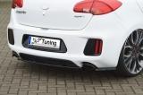 Heckansatz Heckdiffuser ABS bestehend aus Mittelteil und Seitenteilen für Kia Ceed GT, Pro Ceed GT