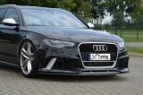 Spoilerschwert aus ABS für Audi RS6 4G C7 Avant ab Bj.: 2013 -