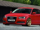 Spoilerschwert aus ABS für Audi A3 8P Facelift Bj.: 2008-2012