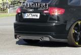 GT5 Style Heckansatz für Audi A3 8PA Sportback