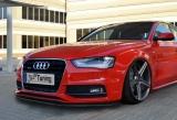 Spoilerschwert ABS für Audi A4 B8 Facelift S-Line Limousine Avant ab Bj.:11-