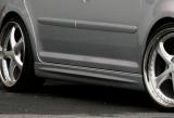 Optik Seitenschwellersatz aus ABS für Audi A4 B8